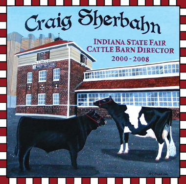 Hand Painted Personalized Cattle Signs Angus Hereford